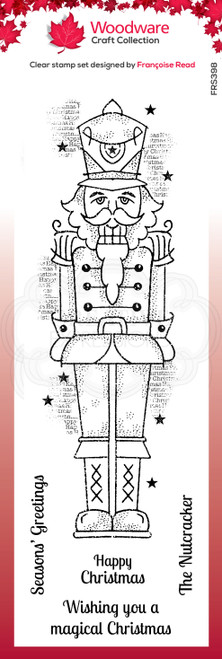 Nutcracker Clear Stamp Set by Francoise Read