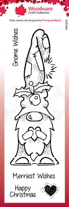 Gnome Wishes Clear Stamp Set by Francoise Read