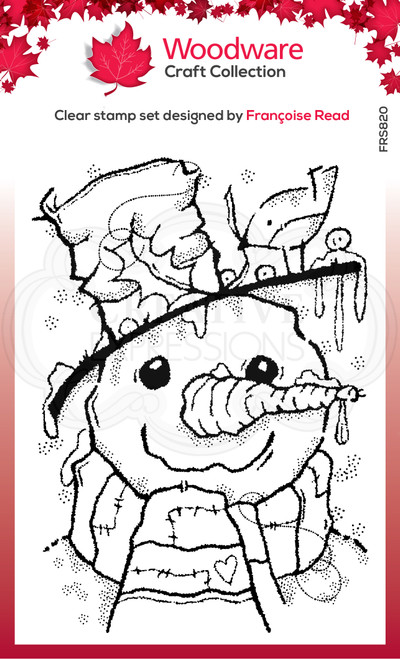 Mr Frosty Clear Stamp by Francoise Read