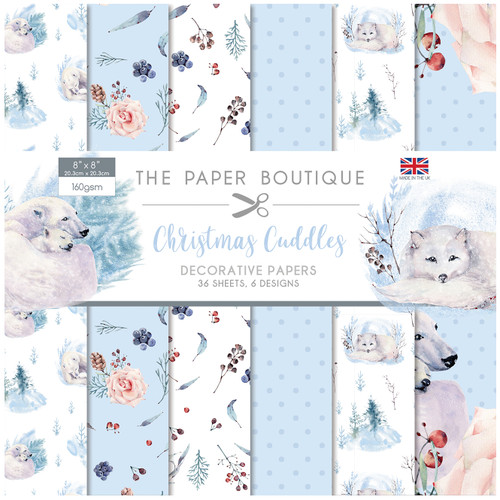 Christmas Cuddles 8x8 Paper Pad