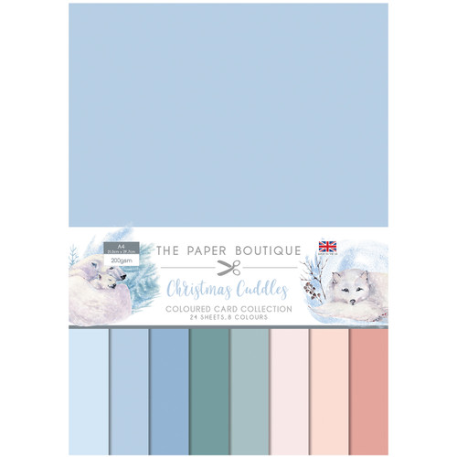 Christmas Cuddles Colour Card Collection A4 200gsm