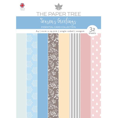 Seasons Greetings A4 Essential Colour Card 200gsm