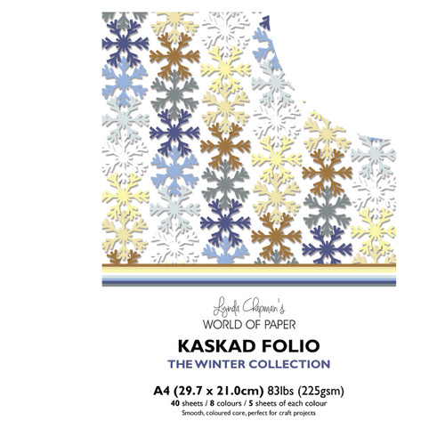 Kaskad – Winter Collection A4 225gsm Coloured Core Card