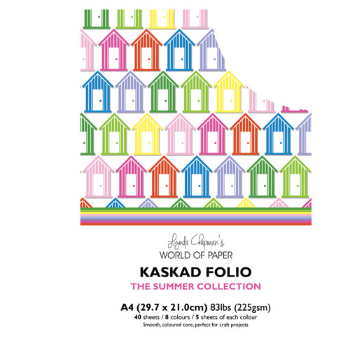 Kaskad – Summer Collection A4 225gsm Coloured Core Card