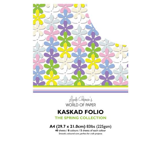 Kaskad – Spring Collection A4 225gsm Coloured Core Card
