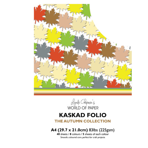 Kaskad – Autumn Collection A4 225gsm – Coloured Core Card