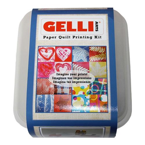 Gelli Arts Paper Quilt Printing Kit
