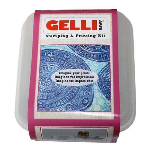 Gelli Arts Stamping & Printing Kit