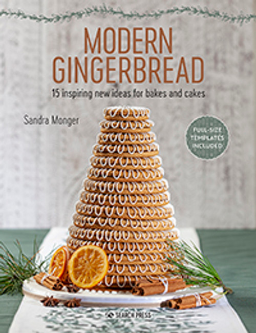 Modern Gingerbread by Sandra Monger