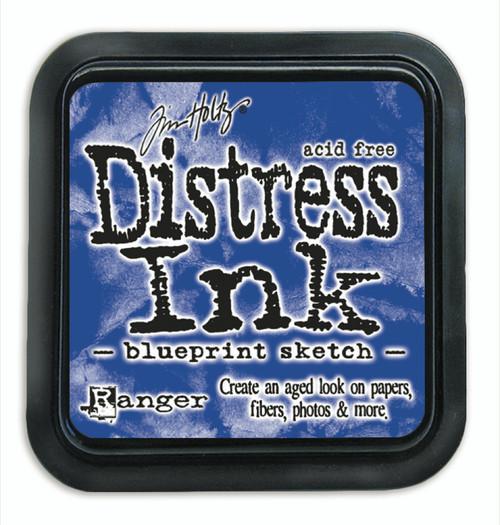 Tim Holtz Distress Ink Pad - Blueprint Sketch