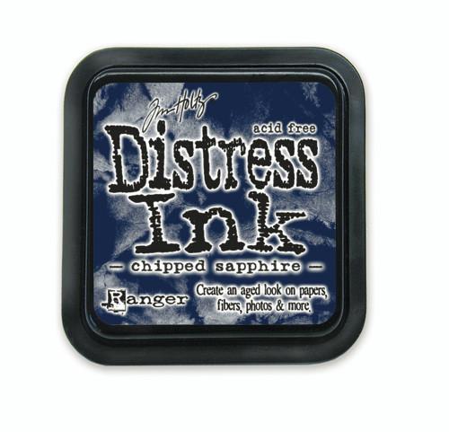 Tim Holtz Distress Ink Pad - Chipped Sapphire