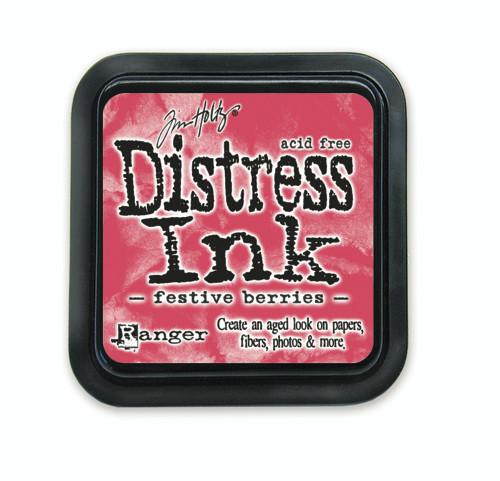 Tim Holtz Distress Ink Pad - Festive Berries