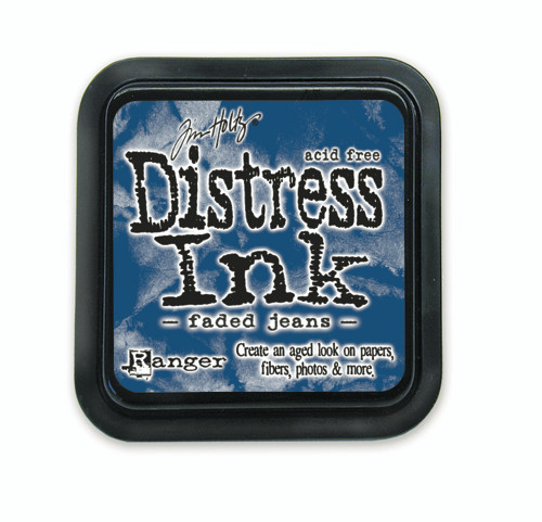 Tim Holtz Distress Ink Pad - Faded Jeans