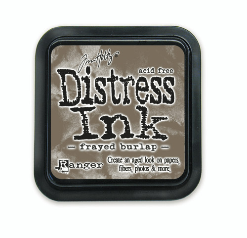 Tim Holtz Distress Ink Pad - Frayed Burlap