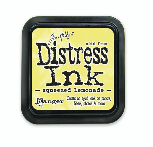 Tim Holtz Distress Ink Pad - Squeezed Lemonade