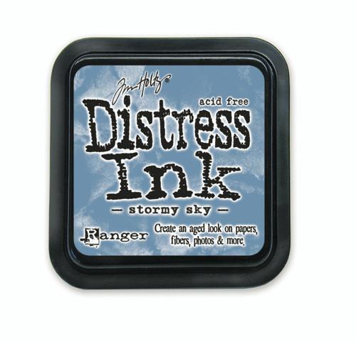 Tim Holtz Distress Ink Pad - Stormy Sky