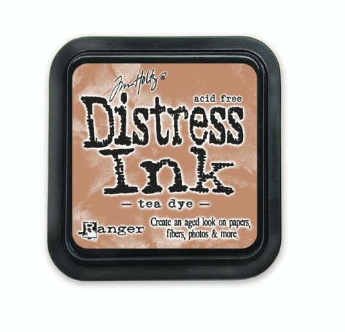 Tim Holtz Distress Ink Pad - Tea Dye