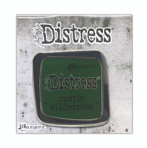 Tim Holtz Distress Rustic Wilderness - Enamel Pin