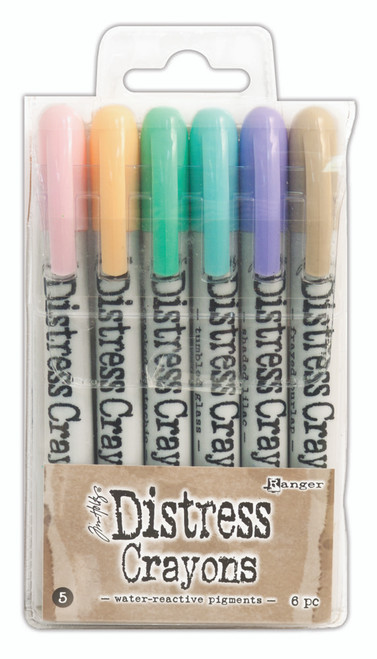 Tim Holtz Distress Crayons Set 5