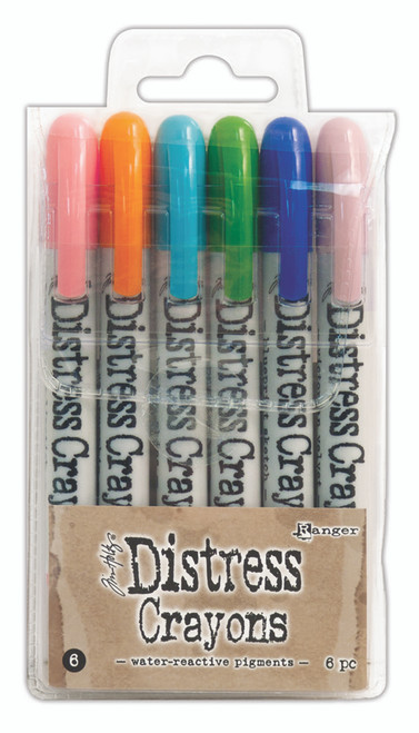 Tim Holtz Distress Crayons Set 6