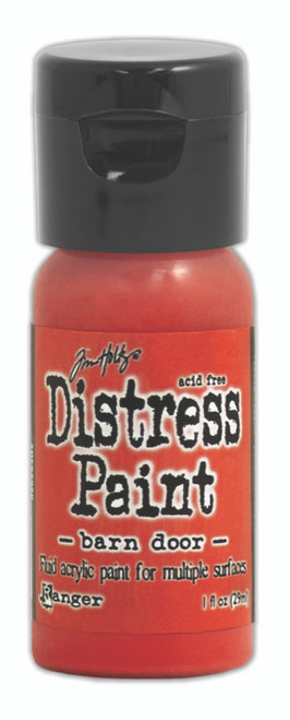 Tim Holtz Distress Flip Top Paint - Barn Door - 1oz
