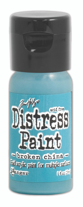 Tim Holtz Distress Flip Top Paint - Broken China - 1oz