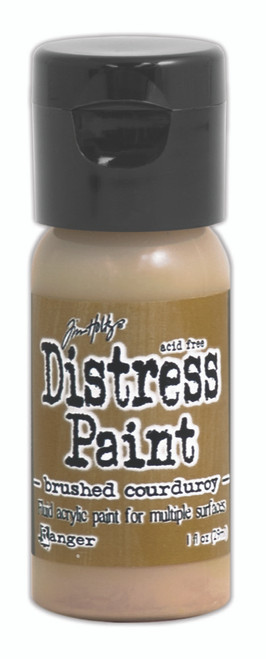 Tim Holtz Distress Flip Top Paint - Brushed Corduroy - 1oz