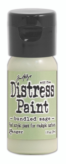 Tim Holtz Distress Flip Top Paint - Bundled Sage - 1oz