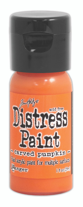 Tim Holtz Distress Flip Top Paint - Carved Pumpkin - 1oz