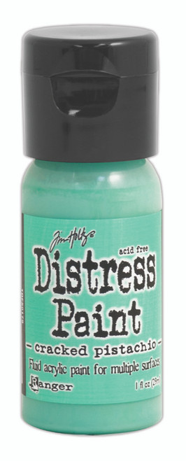 Tim Holtz Distress Flip Top Paint - Cracked Pistachio - 1oz