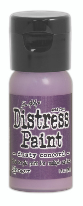 Tim Holtz Distress Flip Top Paint - Dusty Concord - 1oz