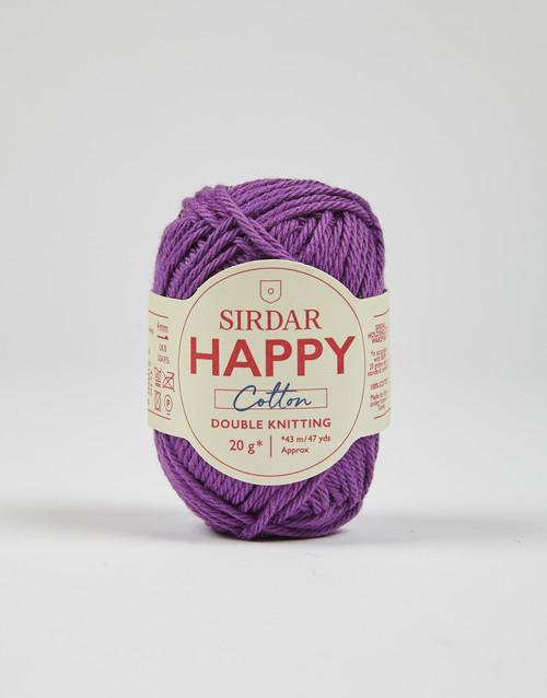 Sirdar Happy Cotton DK Yarn - Currant Bun - 756