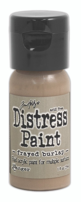 Tim Holtz Distress Flip Top Paint - Frayed Burlap - 1oz