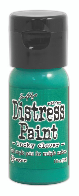 Tim Holtz Distress Flip Top Paint - Lucky Clover - 1oz