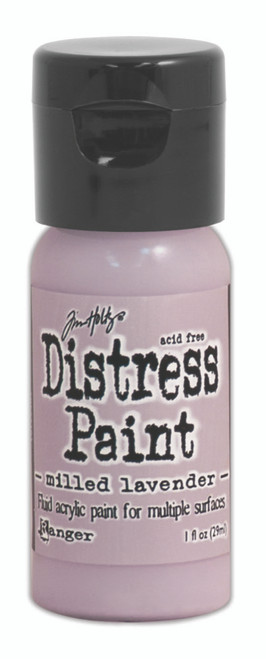 Tim Holtz Distress Flip Top Paint - Milled Lavender - 1oz