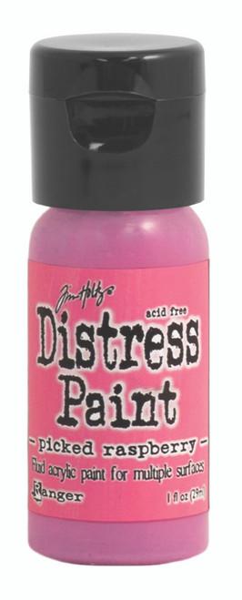 Tim Holtz Distress Flip Top Paint - Picked Raspberry - 1oz