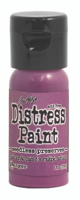 Tim Holtz Distress Flip Top Paint - Seedless Preserves - 1oz