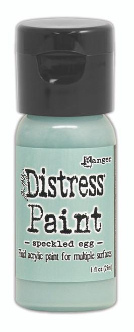 Tim Holtz Distress Flip Top Paint - Speckled Egg - 1oz