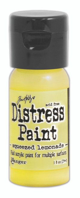 Tim Holtz Distress Flip Top Paint - Squeezed Lemonade - 1oz