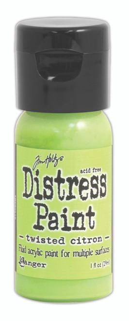 Tim Holtz Distress Flip Top Paint - Twisted Citron - 1oz