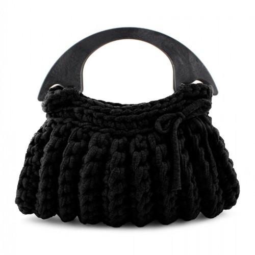 DIY Crochet Kit Zpagetti Bag Milano Black