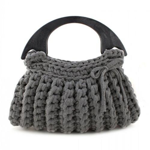 DIY Crochet Kit Zpagetti Bag Milano - Antracite