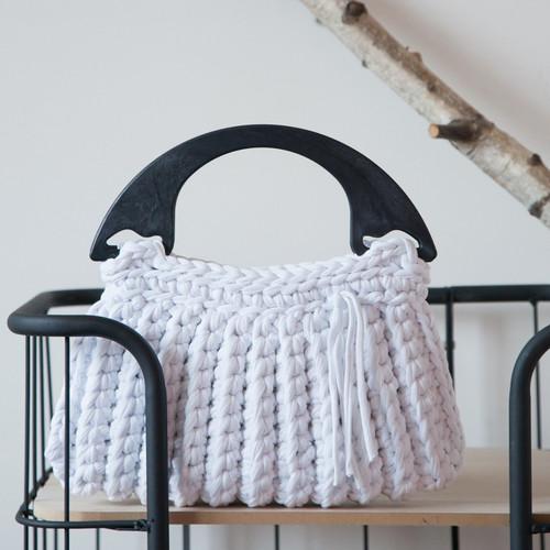 DIY Crochet Kit Zpagetti Bag Milano - Off White