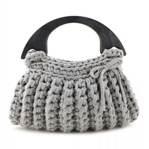 DIY Crochet Kit Zpagetti Bag - Milano Grey