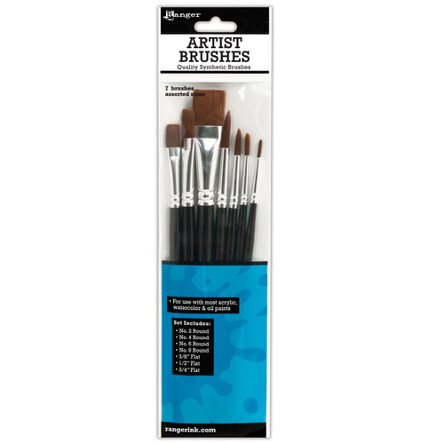 Ranger Artist Brushes - 7 pieces