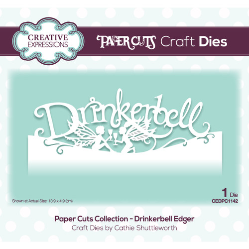Drinkerbell Craft Edger Die by Paper Cuts