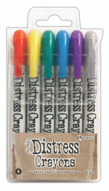 Tim Holtz Distress Crayons Set 4