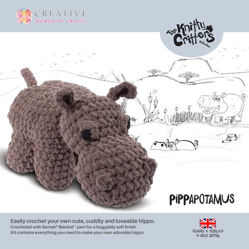 Pippa-potamus by Knitty Critters