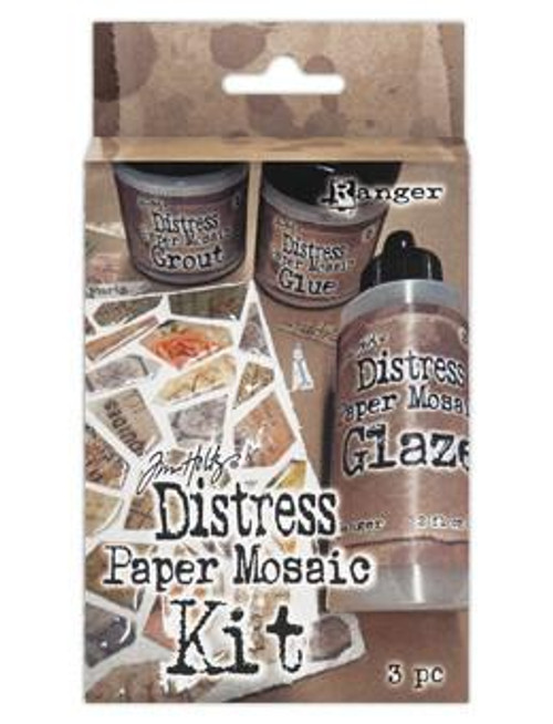 Tim Holtz Distress Paper Mosaic Kit