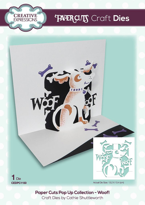 Paper Cuts Woof! Craft Die